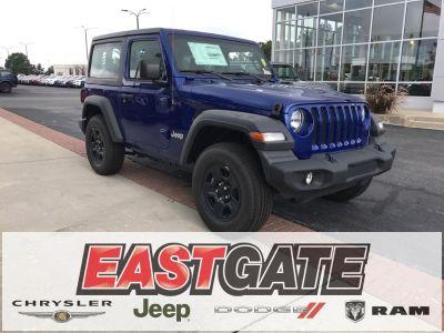 2018 Jeep Wrangler sport (Ocean Blue Metallic)