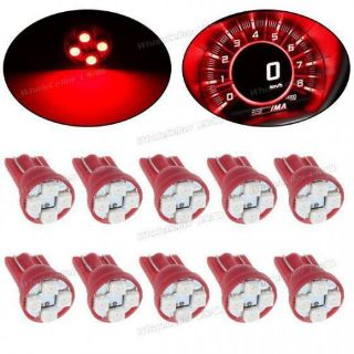 Find 10X Red 921 T10 3528-SMD LED Light Bulb Instrument Speedometer Gauge Dash motorcycle in Milpitas, California, United States