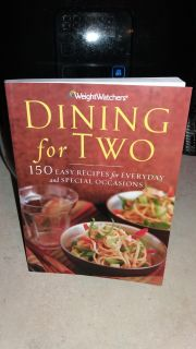WEIGHT WATCHERS DINING FOR 2 COOKBOOK