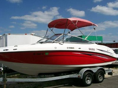 $5,740, 2007 Yamaha SX 210 Twin 220HP Eengine