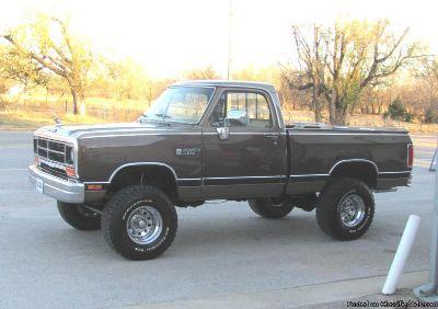 1989 Dodge Ram 1500