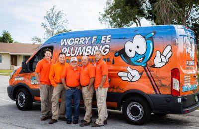 Worry free plumbing contractors