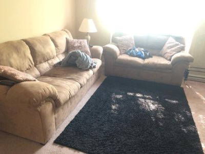 Couch and loveseat moving and need these gone ASAP