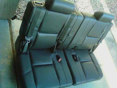 Buy 2007-2011 YUKON- DENALI - ESCALADE- TAHOE-SUBURBAN -- 3RD ROW SEATS BLACK motorcycle in Las Vegas, Nevada, US, for US $689.99