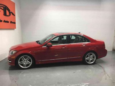 2013 Mercedes-Benz C-Class C300 4MATIC Luxury (Red)