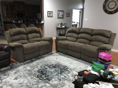 Sofa and love seat recliner s