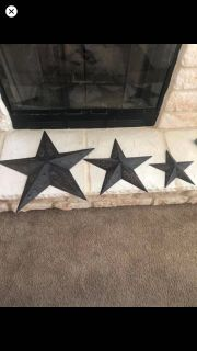 Texas Stars / wall hanging all 3 for $10 ... no holds! Excellent condition