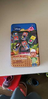 Handy Manny domino starter game-28 dominos