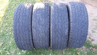 Lt 275 70r18 used tires
