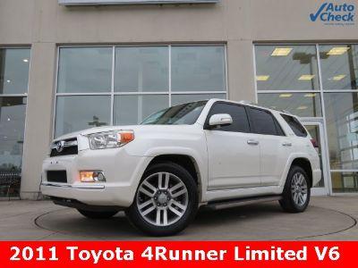 2011 Toyota 4Runner Limited (white)