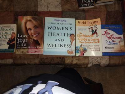 Women's Self Help and Health books