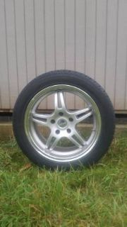 "4 Tires with Rims-17"" Diameter Excellent Condition"