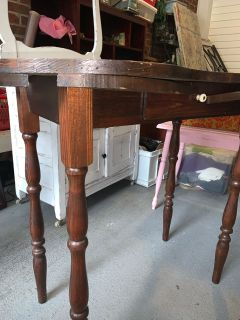 Antique vanity/side table