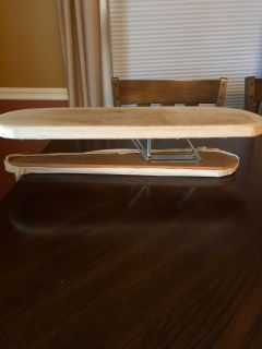Vintage table top ironing board