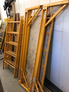 2 sets of Baker scaffolding