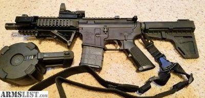 For Sale: 7.5 in AR15 Pistol