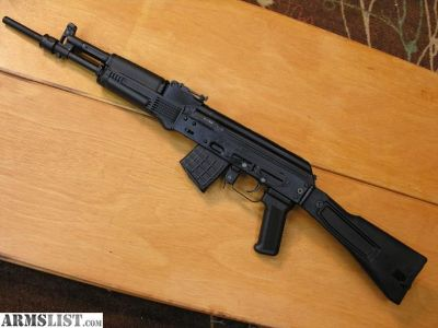 For Sale: ARSENAL 107CR SBR OPTION LIKE NEW AK 7.62X39