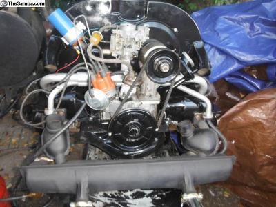 vw 1600cc single port motor