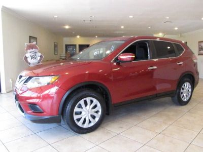 2014 Nissan Rogue S (Cayenne Red)