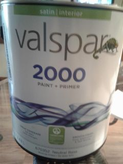 NEW (never opened) can of Valspar paint ~ $15