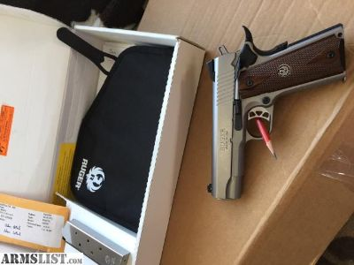 For Sale: Ruger SR1911 CMD