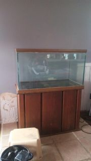 Tank with stand
