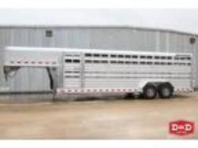 2019 Elite Trailers 24 Ft Stock Trailer