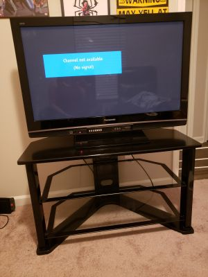 43 inch plasma tv and TV stand $250 OBO