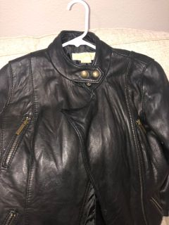 Michael Kors Genuine Leather Jacket