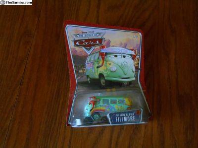 Pixar Cars Fillmore VW Bus