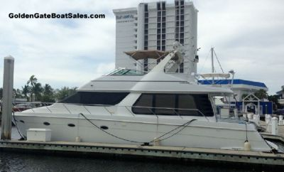1998 53' CARVER 530 VOYAGER PILOTHOUSE For Sale