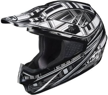 Find HJC CS-MX Stagger Black/Gray/White Off-Road Motorcycle Helmet CSMX Size XSmall motorcycle in South Houston, Texas, US, for US $89.99