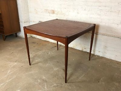 Danish Modern Teak Dining Table by Selig
