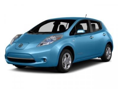 2014 Nissan LEAF SL (Blue Ocean)