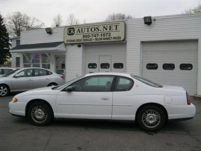 2000 Chevrolet Monte Carlo LS (White)