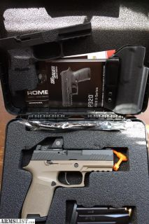 For Sale/Trade: Sig Sauer P320RX COMPACT + Extras