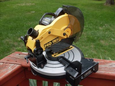 PRO-TECH Miter Saw. Hardly Used.