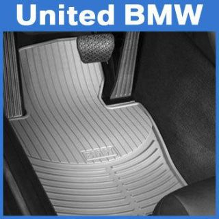 Sell BMW 5 Series Front Rubber Floor Mats 525 528 530 535 545 550 M5 (2004-2010) Gray motorcycle in Roswell, Georgia, US, for US $76.00