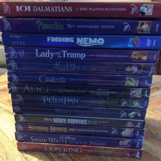 Disney DVD Movies Lot of 13