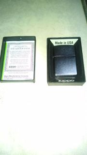 Zippo Lighter Brand New With Lifetime Warranty
