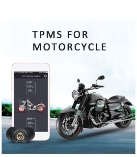Motorcycle Bluetooth tire pressure monitor system