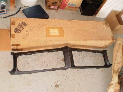 NEW NOS PONTIAC 74 1974 GTO VENTURA HEADER PANEL GRILL OEM RARE GTO FACTORY