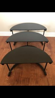 3 stackable tables