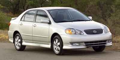 2004 Toyota Corolla CE (Not Given)