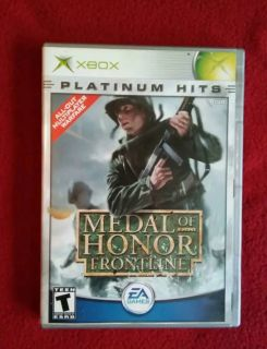 Medal of Honor Frontline Xbox video game