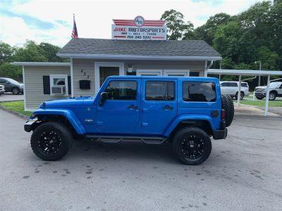 2015 Jeep Wrangler Unlimited Sahara (Blue)