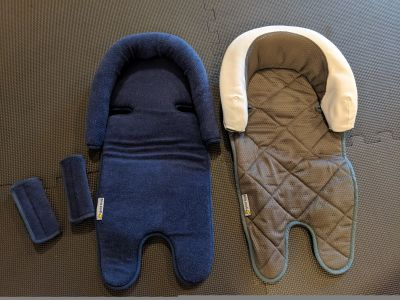 Baby car seats inserts and belt covers