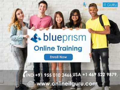 Advanced Blue Prism Certification Course in Irving Texas