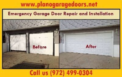 A+ Rated Emergency Garage Door Spring Repair ($25.95) – Plano Dallas, 75023 TX
