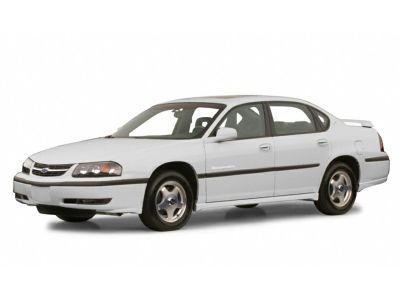 2001 Chevrolet Impala LS (White)